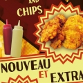 panneau100x54 Snac Chicken and Chips - Fish and Chips