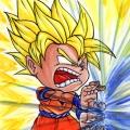 Fan Art Dragon Ball Z - Chibi Goku 01-ssj1