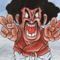 Fan Art Dragon Ball Z - Chibi Hercule Satan