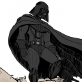 Fanart de Star Wars - Dark Vador - couleur