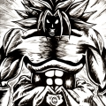 Fan Art Dragon Ball Z - Broly NB
