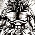 Fan Art Dragon Ball Z - Broly NB