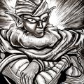 Fan Art Dragon Ball Z - Piccolo NB