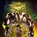 Fan Art Dragon Ball Z - the incredible Broly