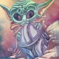 Fanart Star Wars The Mandalorian - Baby Yoda