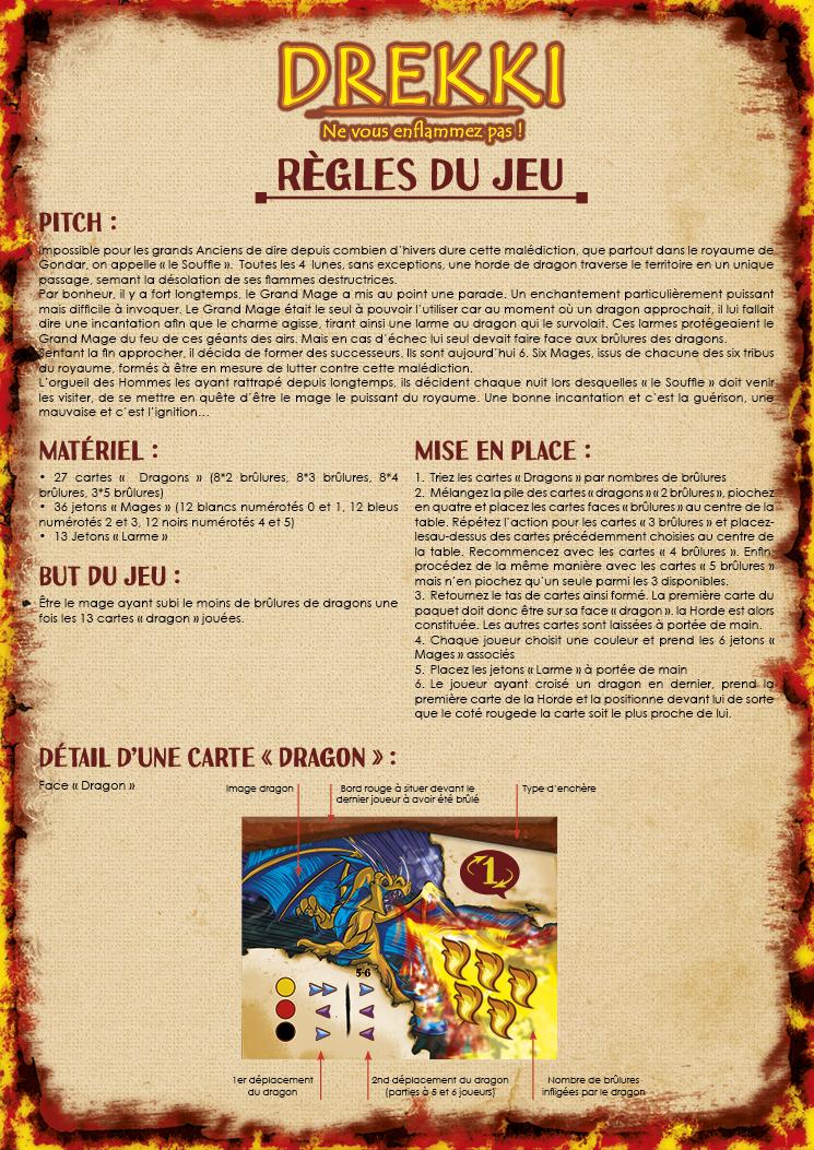 Lud'Act - Drekki - Règle du jeu recto
