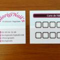BiorigiNail\'s - Cartes fidélités