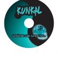 Kunkal - Crâne de cristal - sticker cd