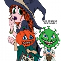 halloween covid 2020 couleur