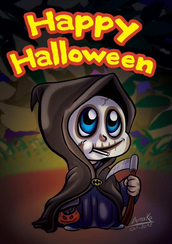 Halloween 2018 - Chibi-Death