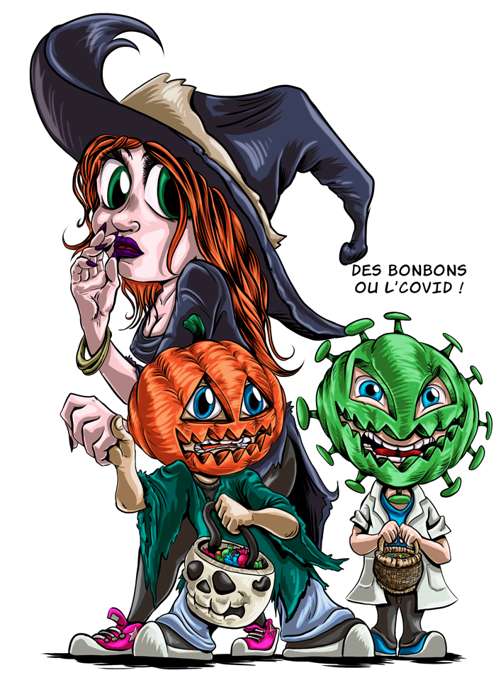 halloween covid 2020 ombres