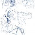 Drekki - recherches dragons 001