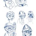 Mascotte Amicale de BD d'Aigues-Mortes - recherche02