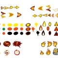 Drekki - recherches pictos 01