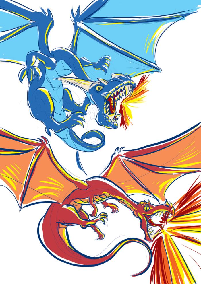 Drekki - recherches dragons 002